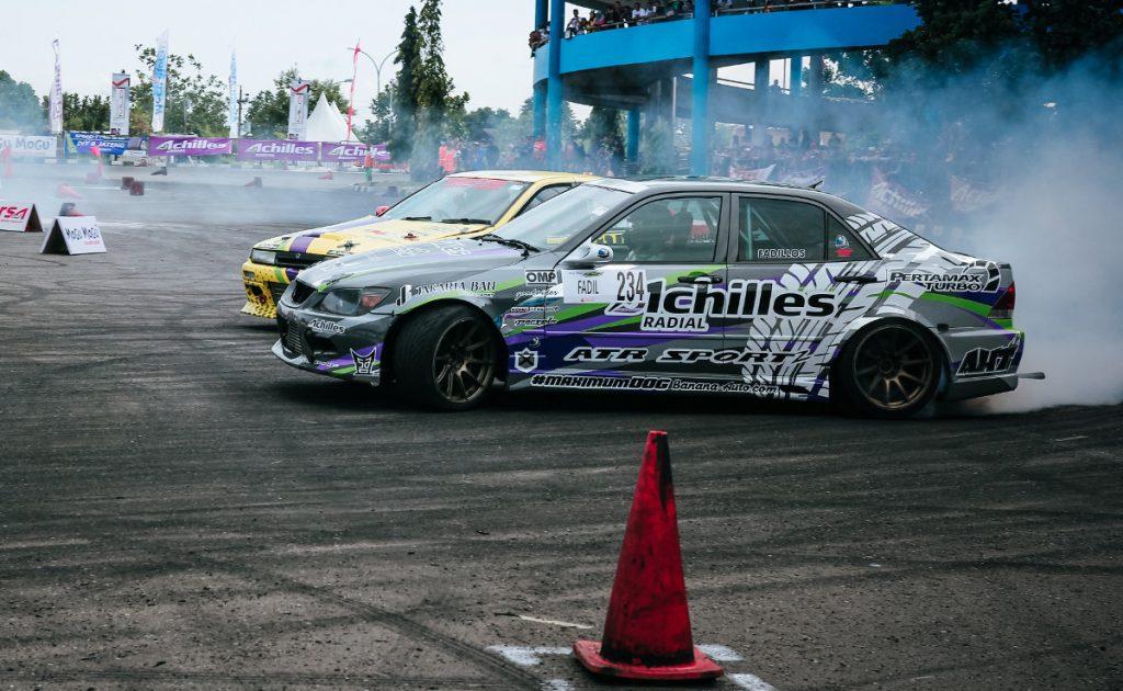 Drift - często turbosprężarka wykorzystywana jest dozwiększenia mocy